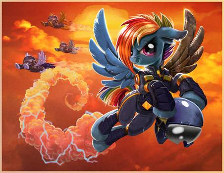 Pegasus Troopers