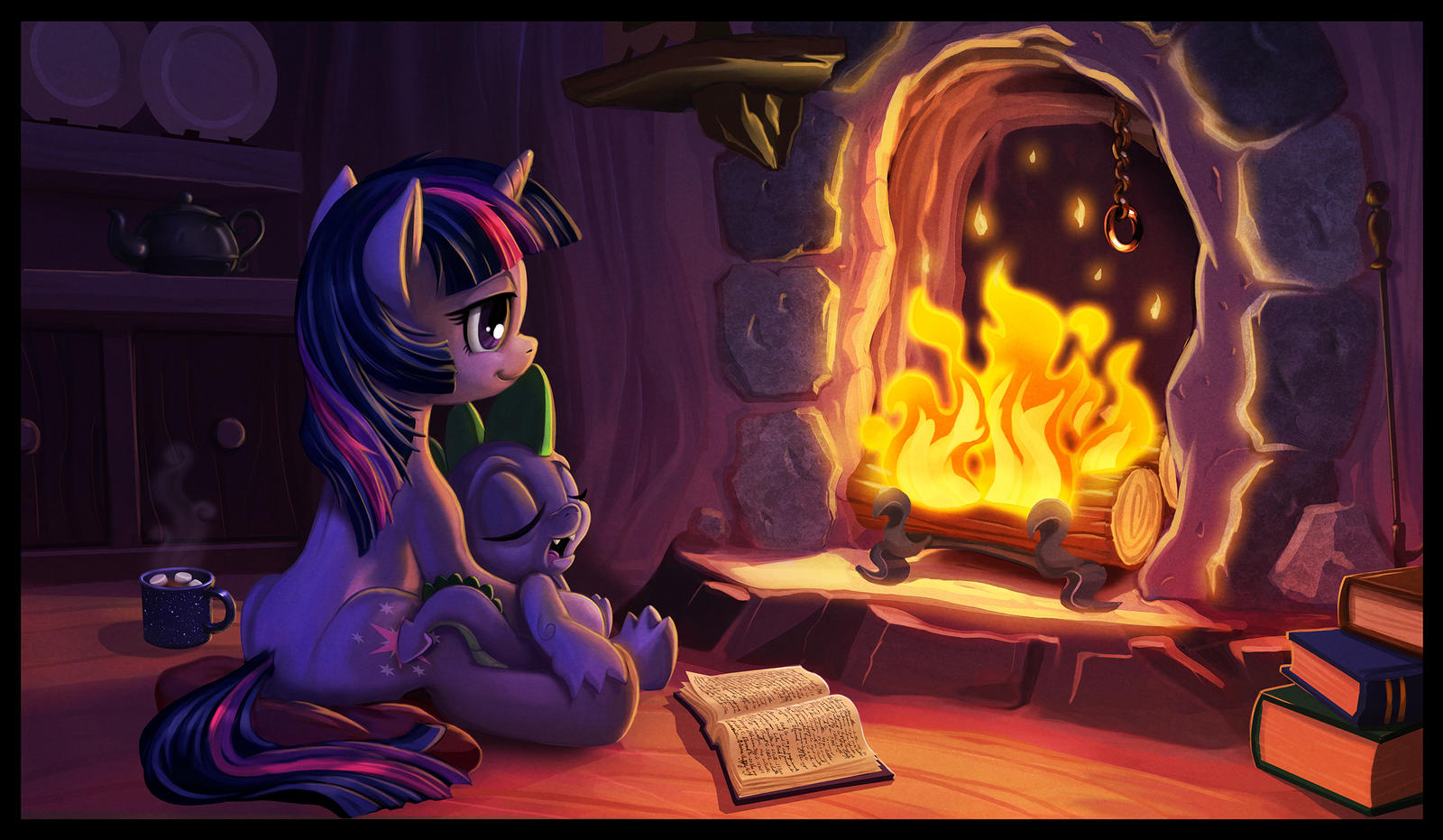 settling_into_ponyville_by_harwicks_art_