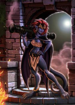 Demona comes knocking