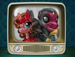 Now Broadcast in Stunning PonyVision by harwicks-art