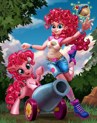 A Double Blast of Pinkie