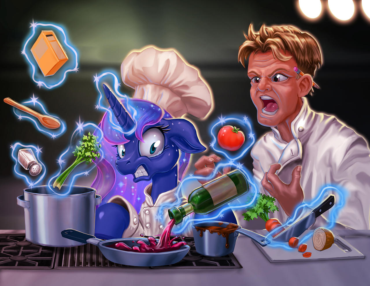 Commission:  Kitchen Nightmares