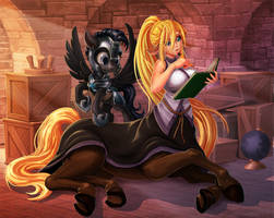 Daily Equestria Life with Monster Girl