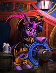 Piratical Purple Pony