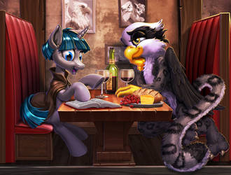 Commission:  Romancing the Griffonstone