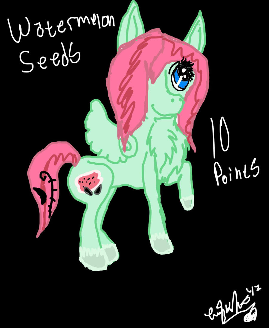 Pony Adoptable 3 .:Open:. by XRadioactive-FrizzX