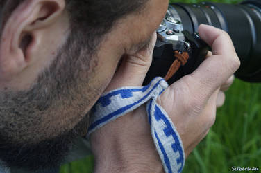 Photographer in Action by Silberblau