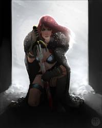 Red Sonja by mullerpereira