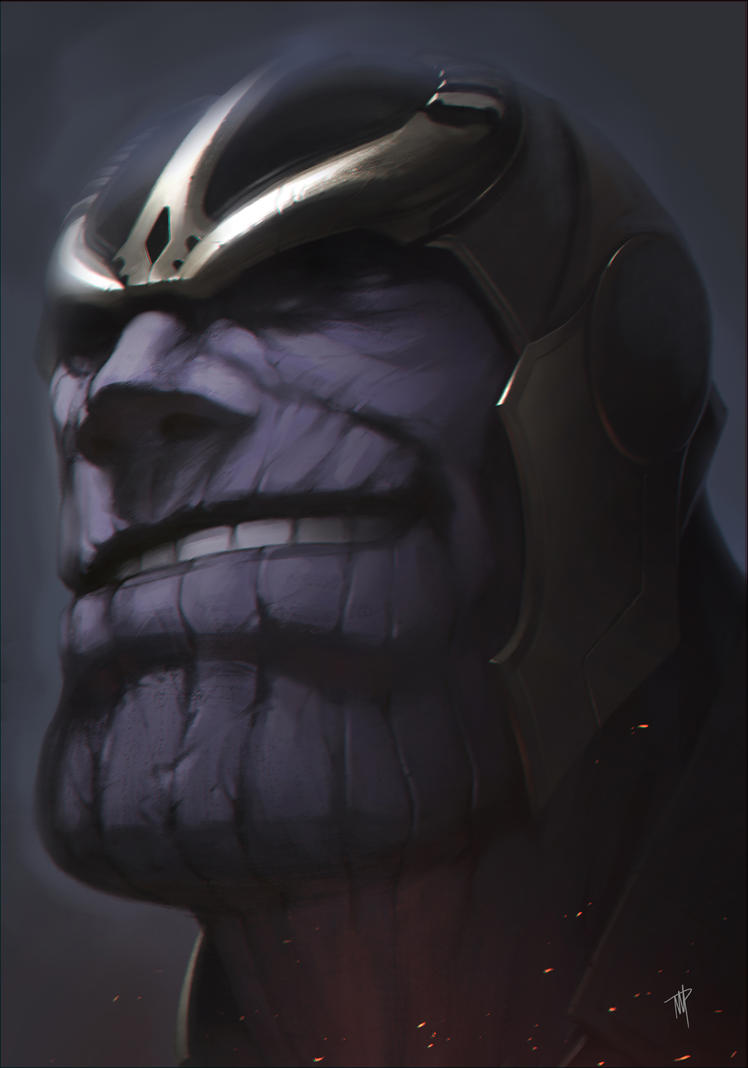 Thanos by mullerpereira