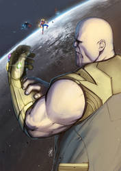 Thanos by mullerpereira