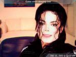 Michael Jackson Sleeps Over