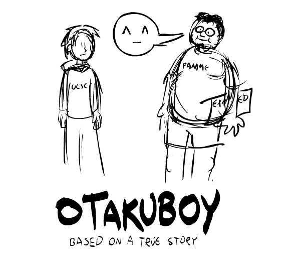 OTAKUBOY Sketch by JeffreyAtW