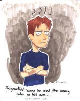Disgruntled Jeffrey by JeffreyAtW