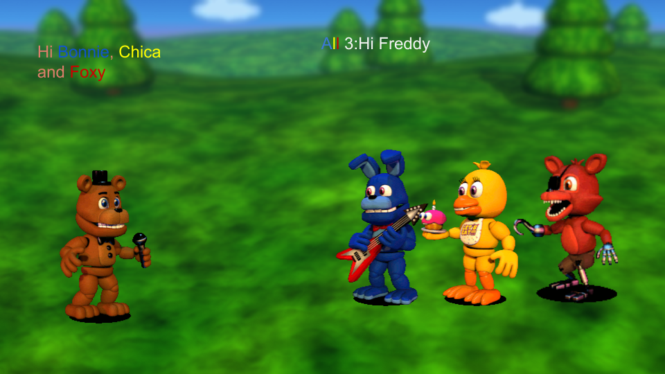 FNaF World  The Story scen 6 by PatrykGr