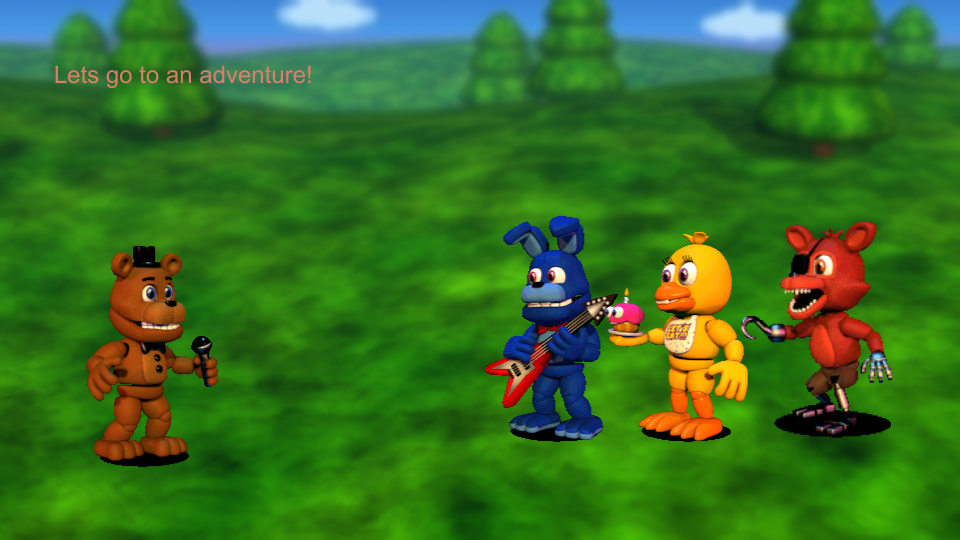 FNaF World  The Story scen 8 by PatrykGr