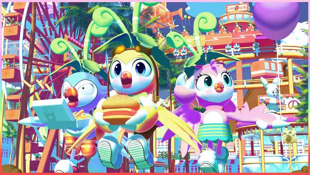 Hypercolor Fairground