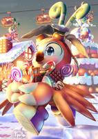 .A Wonderful Christmas Candyland.