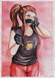 Commission: Brigitte's New Mittens by Never-Ending-Donkey