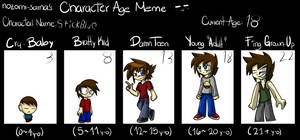 Stick's Age Meme by IVOanimations