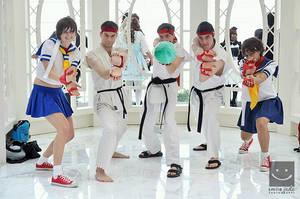 Sakuras and Ryus