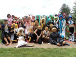 Vocaloid Group Picture @ AnimeNext 2013