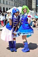 Makoto Yokomiz and Suzuko Kanzaki by Angelstarr-Sakura