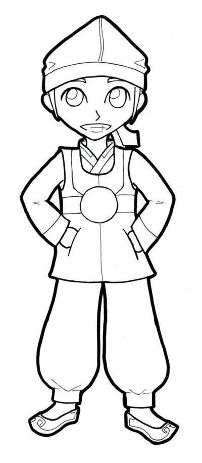 Hanbok - Boy's Version by AkaiTennyo on DeviantArt