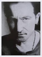 Bono - U2 by lovise