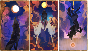 [SVA] The Moon, The Chariot, The Hanged Man