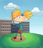 Hey arnold by Drawn-Mario