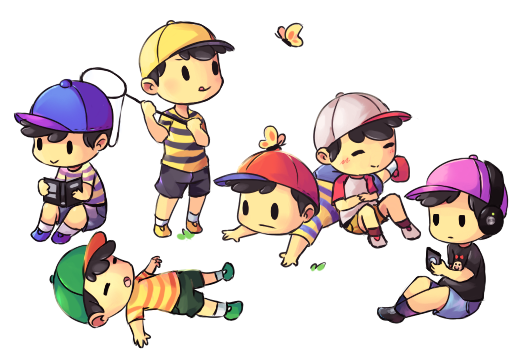 Ness Overload by Drawn-Mario