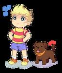 Lucas n Boney by Drawn-Mario