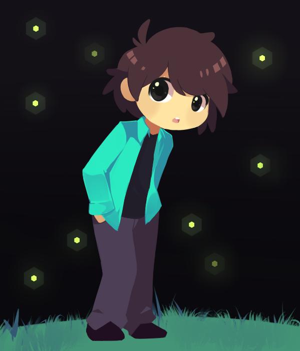 Fireflies by Drawn-Mario