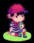 Ninten by Drawn-Mario