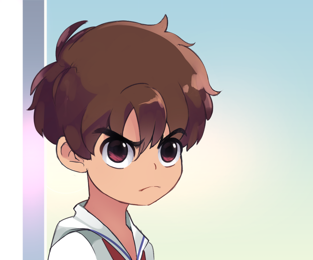 Syaoran redraw by Drawn-Mario