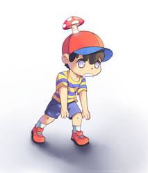 Mushroomy Remake by Drawn-Mario