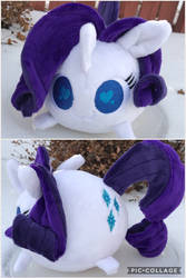 Rarity Chubbie blob pony by Sen5