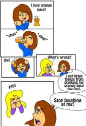 My Brain Page 6 Orange Juice