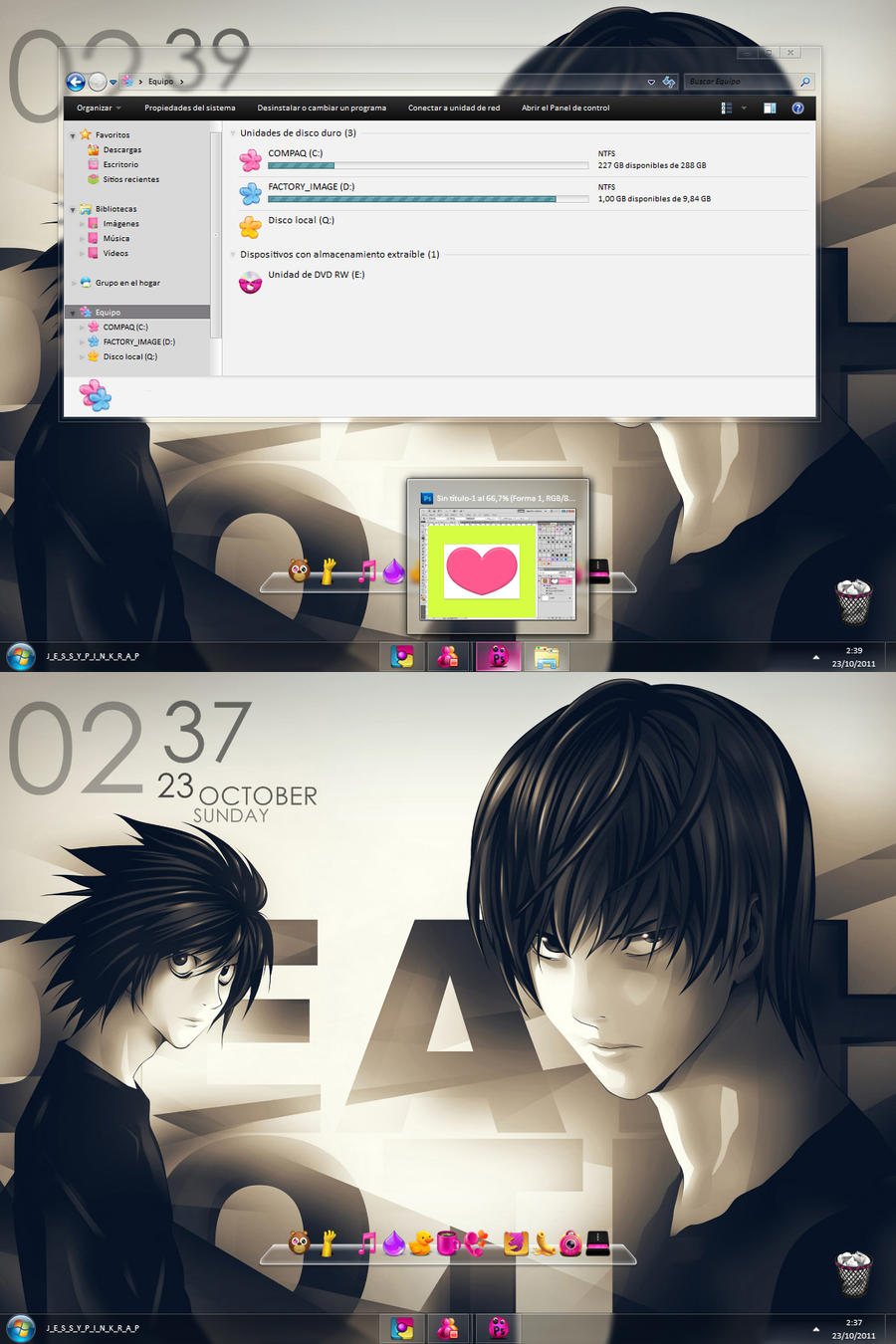 Desktop Death Note by jessy-izan