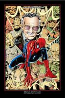 Stan Lee by Brian Denham by DaneRot