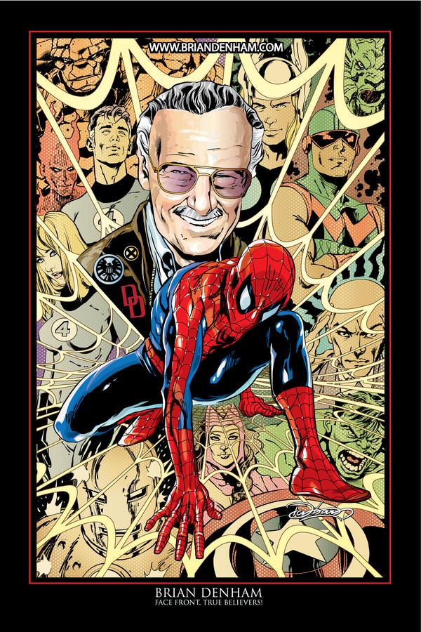 Stan Lee by Brian Denham by DaneRot