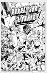 Enter The Zombie lineart