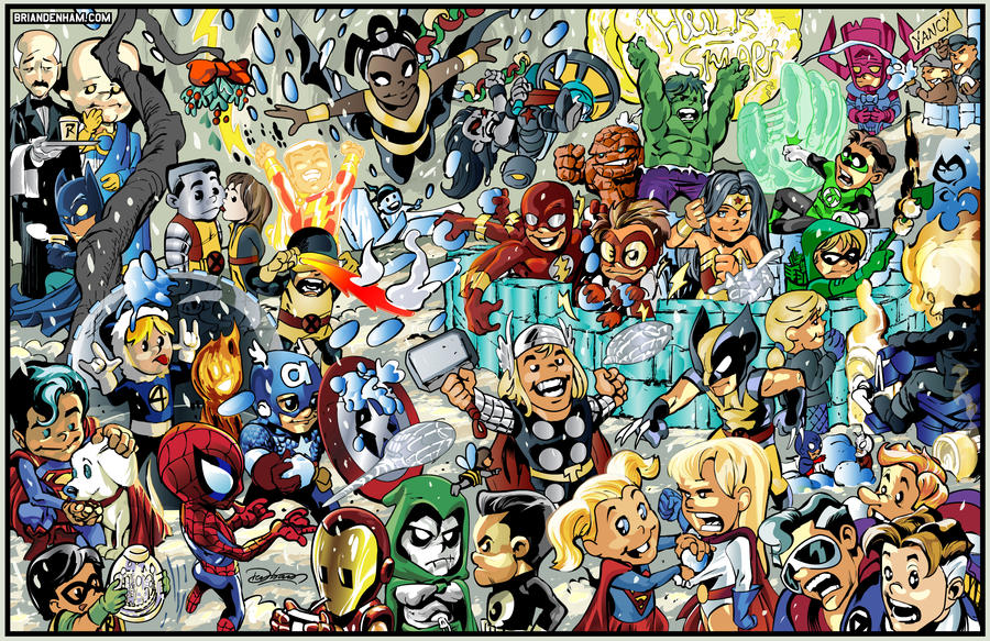 Superheroes 2011 by danerot on deviantart superheroes 2011 by danerot voltagebd Choice Image