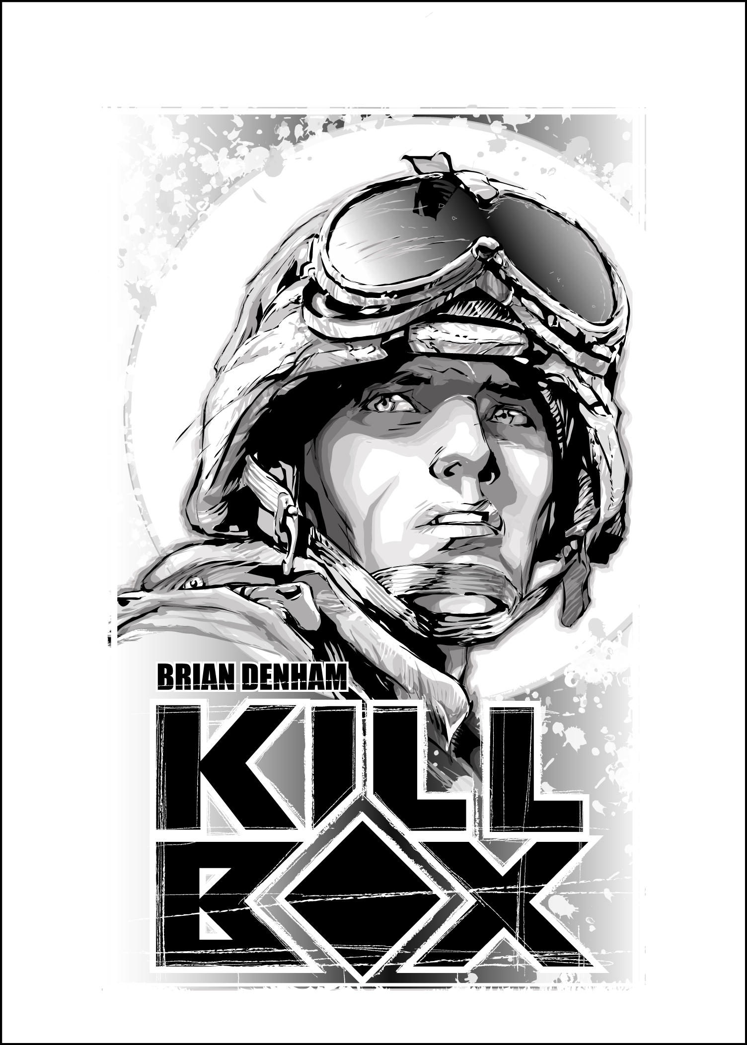 KILLBOX manga title page by DaneRot