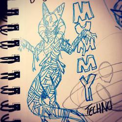 Monster Mash Challenge Day 3 - Mummy