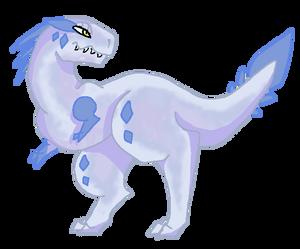 Day 1 Advent - Allosaurus {CLOSED}