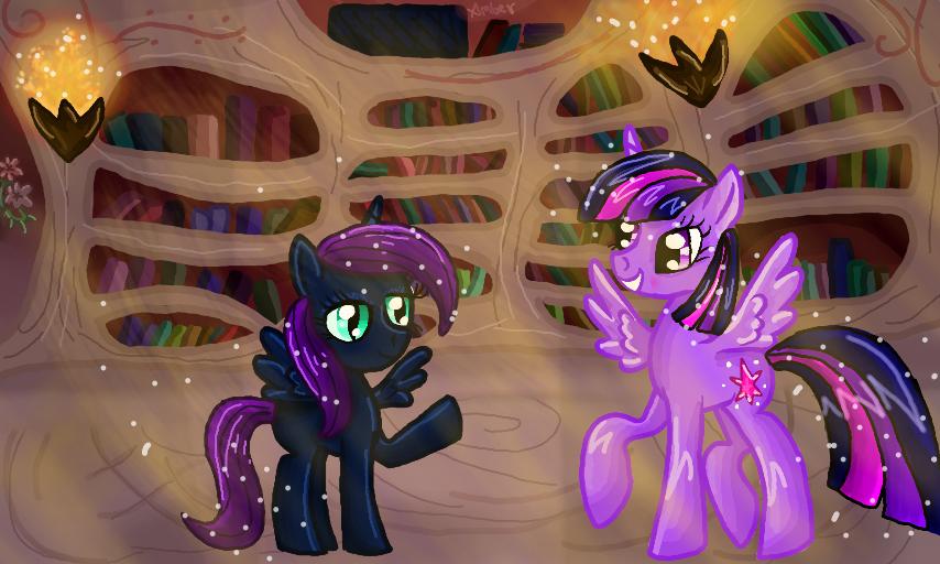 Nyx and Twilight by Ambersha