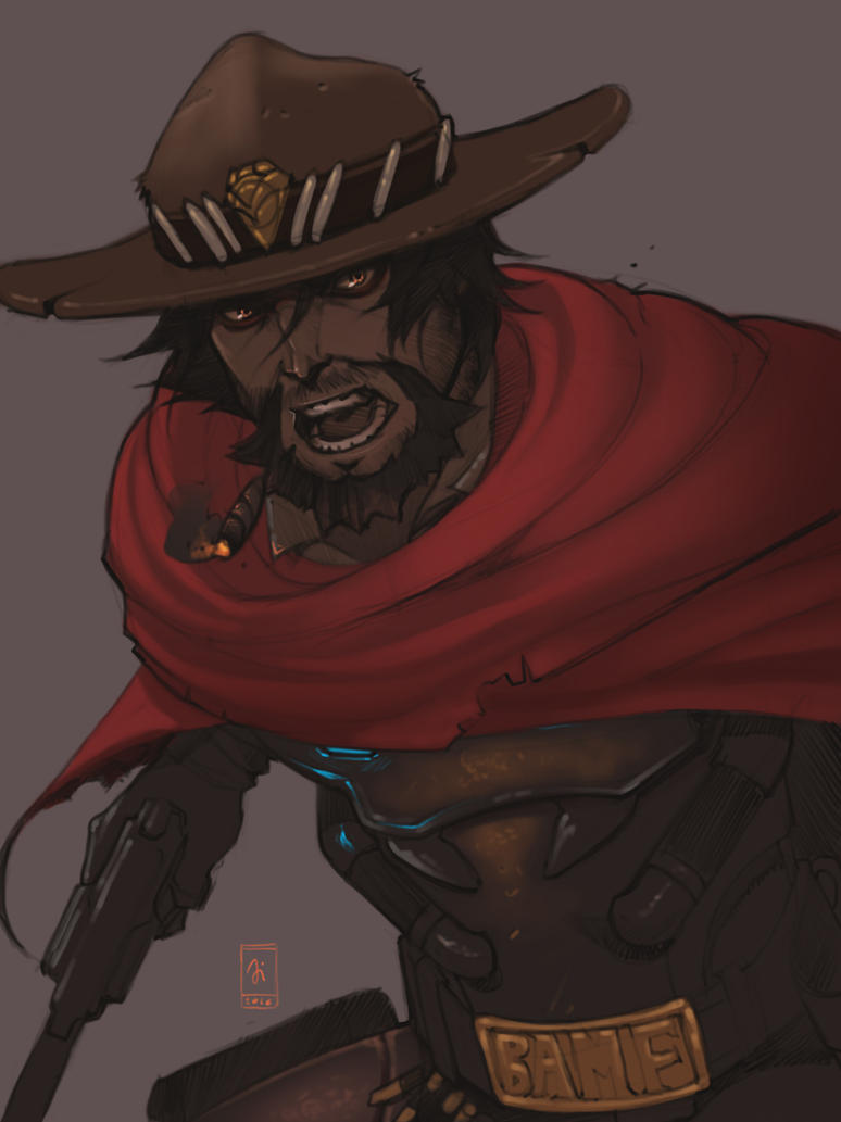 McCree by simoneferriero