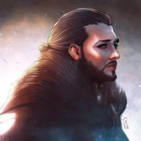 Jon Snow by simoneferriero