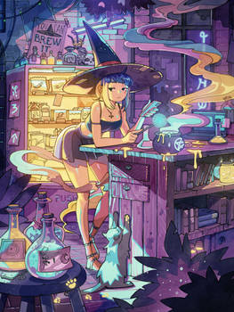 Brewing Potions